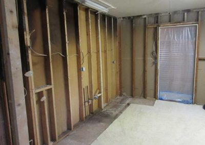 Unfinished and Gutted Kitchen