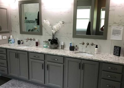 Remodeled Bathroom Cabinets